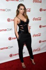 CARA DELEVINGNE at Cinemacon Big Screen Achievement Awards in Las Vegas