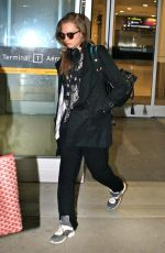 CARA DELEVINGNE at Pearson Airport in Toronto
