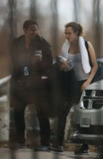 CARA DELEVINGNE Out and About in Toronto