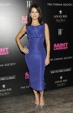 CARLA GUGINO at Saint Laurent Screening in New York