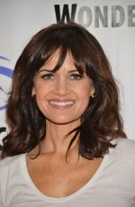 CARLA GUGINO at San Andreas Press Line in Anaheim