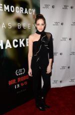 CARLY CHAIKIN at Tribeca Talks: Mr. Robot in New York
