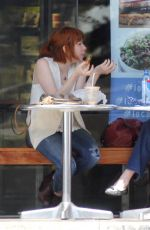 CARLY RAE JEPSEN Out for Lunch in West Hollywood