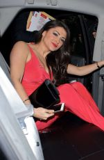 CASEY BATCHELOR Leaves The Dorchester Hotel in London