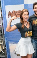 CASSADEE POPE at Cracker Barrel Old Country Store Checkers Challenge in Arlington