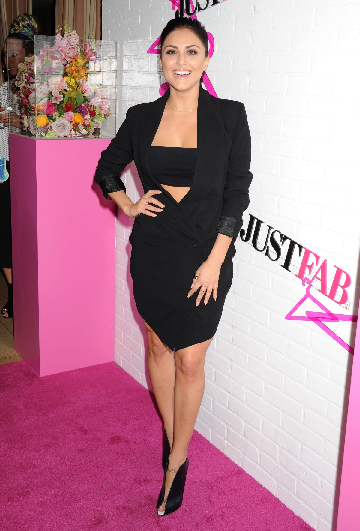 CASSIE SCERBO at Justfab Ready-to-wear Launch Party in ...