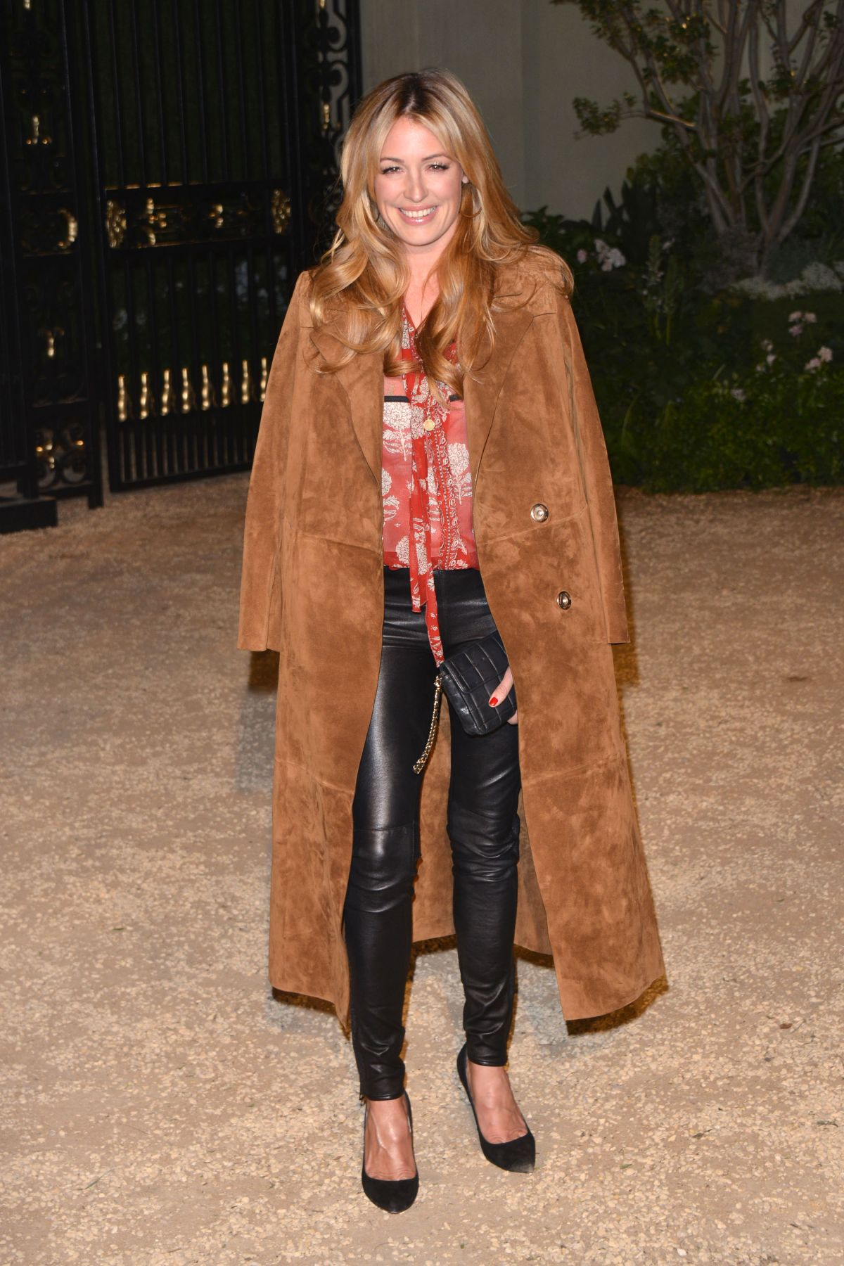 CAT DEELEY at Burberry London in Los Angeles Event in Los Angeles