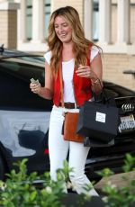 CAT DEELEY Out Shopping in Beverly Hills 04/25/2015