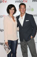 CATHERINE BELL at miptv 2015 Opening Party in Cannes