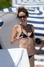 CATT SADLER in Bikini on the Beach in Miami