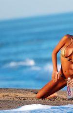CHARLIE RIIN in Golden Bikini for 138 Water