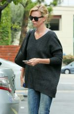 CHARLIZE THERON Out and About in Culver City 04/22/2015