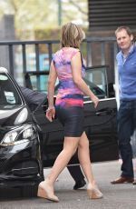 CHARLOTTE HAWKINS Out and About in London 04/23/2015