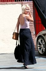 CHELSEA KANE Arrives at DWTS Rehearsals in Hollywood 04/18/2015
