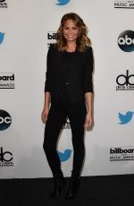 CHRISSY TEIGEN at 2015 Billboard Music Awards Finalists Press Conference in Santa Monica