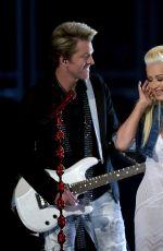 CHRISTINA AGUILERA at Academy of Country Music Awards 2015 in Arlington
