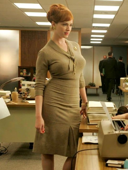 as Christina hendricks