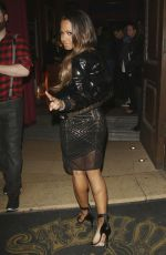 CHRISTINA MILIAN Arrives at Steam & Rye in London