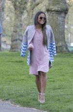CHRISTINA MILIAN at Hyde Park in London