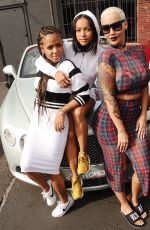 CHRISTINA MILIAN, KARREUCHE TRAN and AMBER ROSE at Luxury Motor Run to Coachella in Los Angeles