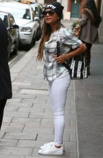 CHRISTINA MILIAN Leaves Her Hotel in London 04/19/2015