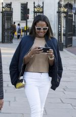 CHRISTINA MILIAN Out and About in London 04/18/2015