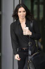 CHRISTINE BLEAKLEY Leaves ITV Studios in London