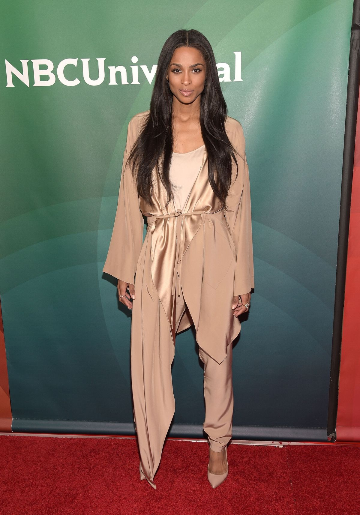 CIARA at 2015 NBCUniversal Summer Press Day in Pasadena