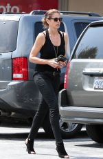 CINDY CRAWFORD Out and About in Malibu 04/22/2015