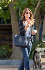 CINDY CRAWFORD Out Shopping in Malibu 04/15/2015