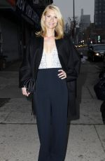 CLAIRE DANES Out and About in New York 04/20/2015
