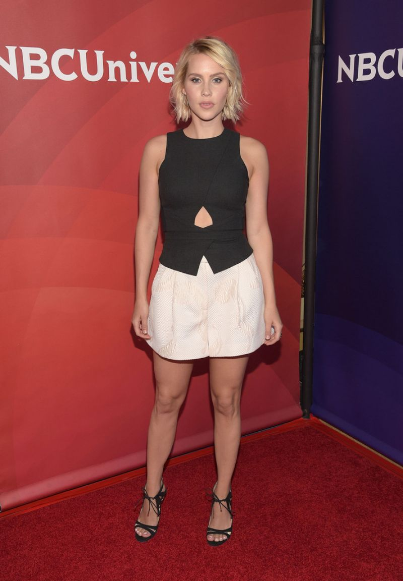 CLAIRE HOLT at 2015 NBCUniversal Summer Press Day in Pasadena
