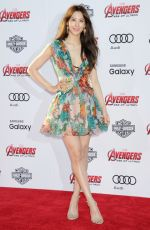 CLAUDIA KIM at Avengers: Age of Ultron Premiere in Hollywood