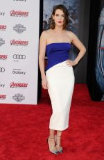 COBIE SMULDERS at Avengers: Age of Ultron Premiere in Hollywood