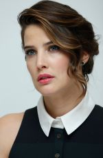COBIE SMULDERS at Avengers: Age of Ultron Press Conference in Burbank