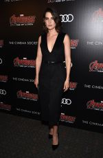 COBIE SMULDERS at Avengers: Age of Ultron Screening in New York