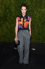 COBIE SMULDERS at Chanel Dinner at Tribeca Film Festival in New York