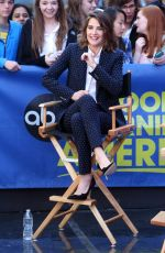 COBIE SMULDERS at Good Morning America in New York 04/29/2015