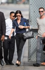 COURTNEY COX Arrives at Jimmy Kimmel Live in New York