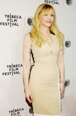 COURTNEY LOVE at Kurt Cobain: Montage of Heck Premiere in New York