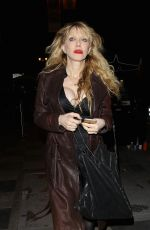 COURTNEY LOVE Leaves The Florence and the Machine Concert at Ace Hotel