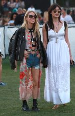 DAISY LOWE at Coachella Music Festival, Day 3