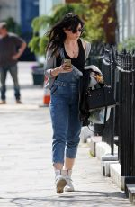 DAISY LOWE Out and About in London 04/23/2015