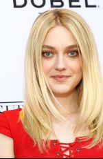 DAKOTA FANNING at Franny Pre-TFF Cast Dinner in New York