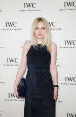 DAKOTA FANNING at IWC Schaffhausen For the Love of Cinema Gala in New York