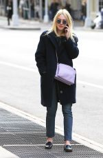DAKOTA FANNING Out and About in New York 04/24/2015