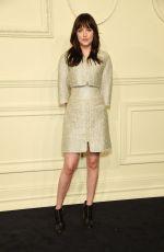 DAKOTA JOHNSON at Chanel Paris-Salzburg Metiers D'Art Collection Launch in New York