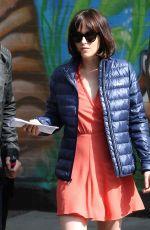 DAKOTA JOHNSON at How to be Single Movie Set in New York 04/21/2015