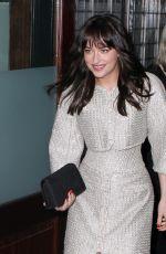 DAKOTA JOHNSON Leaves Her Hotel in New York