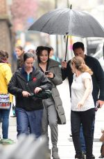 DAKOTA JOHNSON on the Set of How to be Single in New York